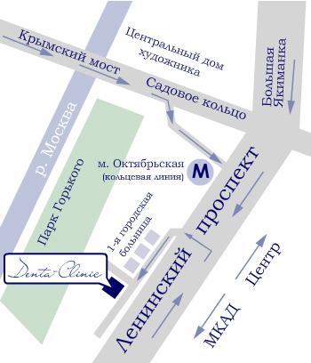 Больница no 61 схема проезда